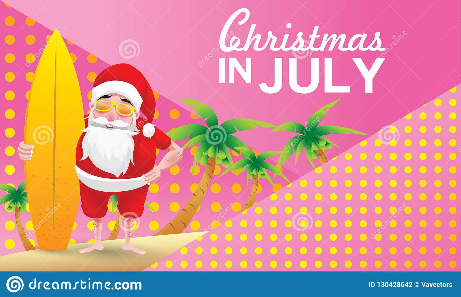 Happy Christmas In July Images.Christmas In July Stock Illustration Illustration Of Merry