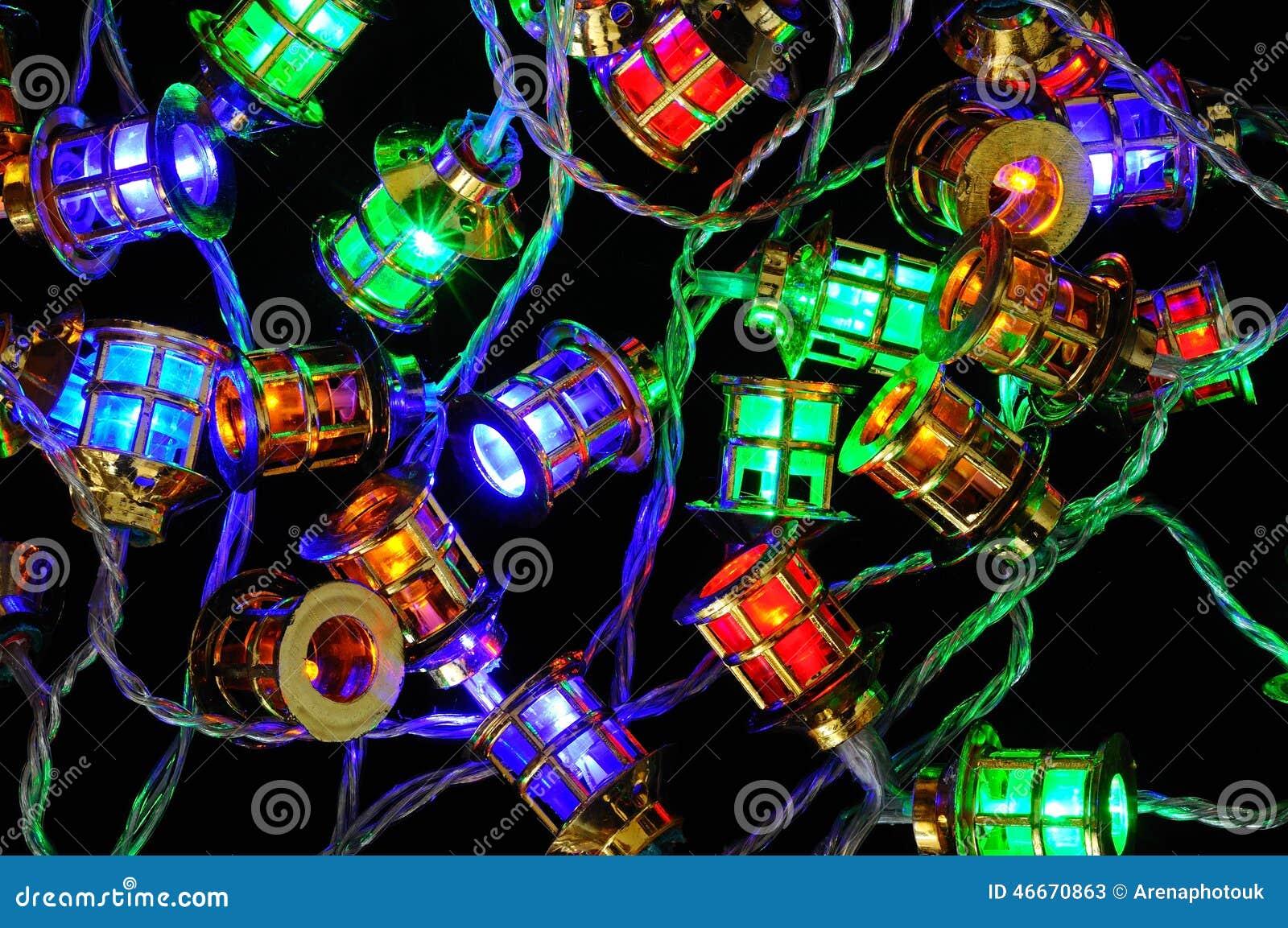 christmas lantern fairy lights