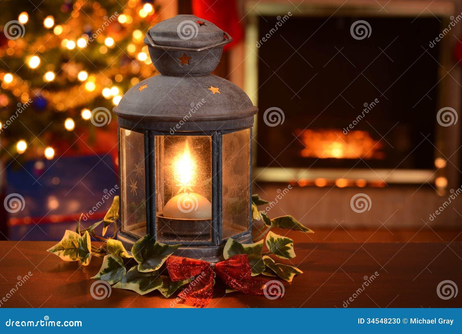 Christmas Lantern Stock Photo - Image: 34548230