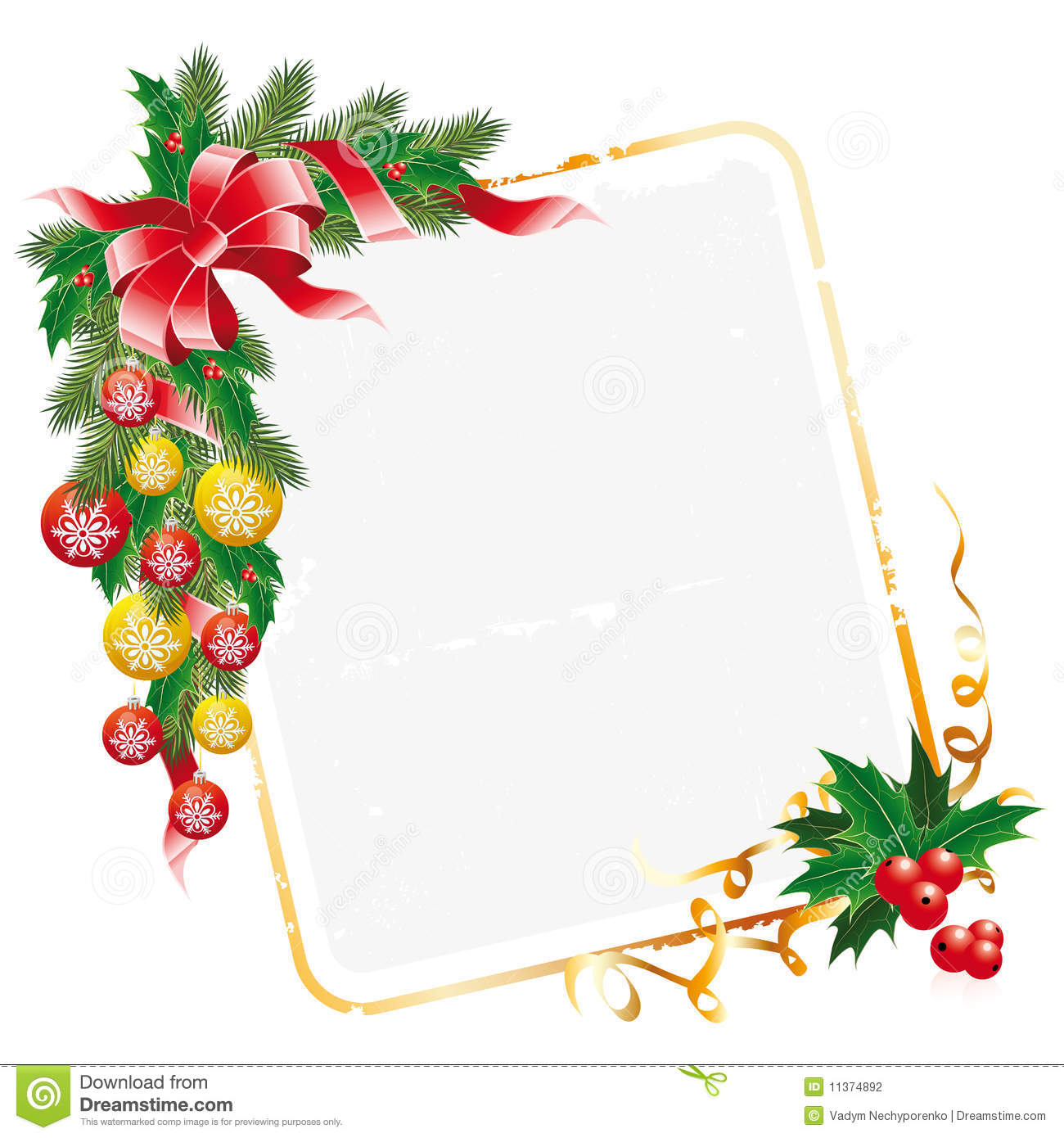 christmas letter decoration