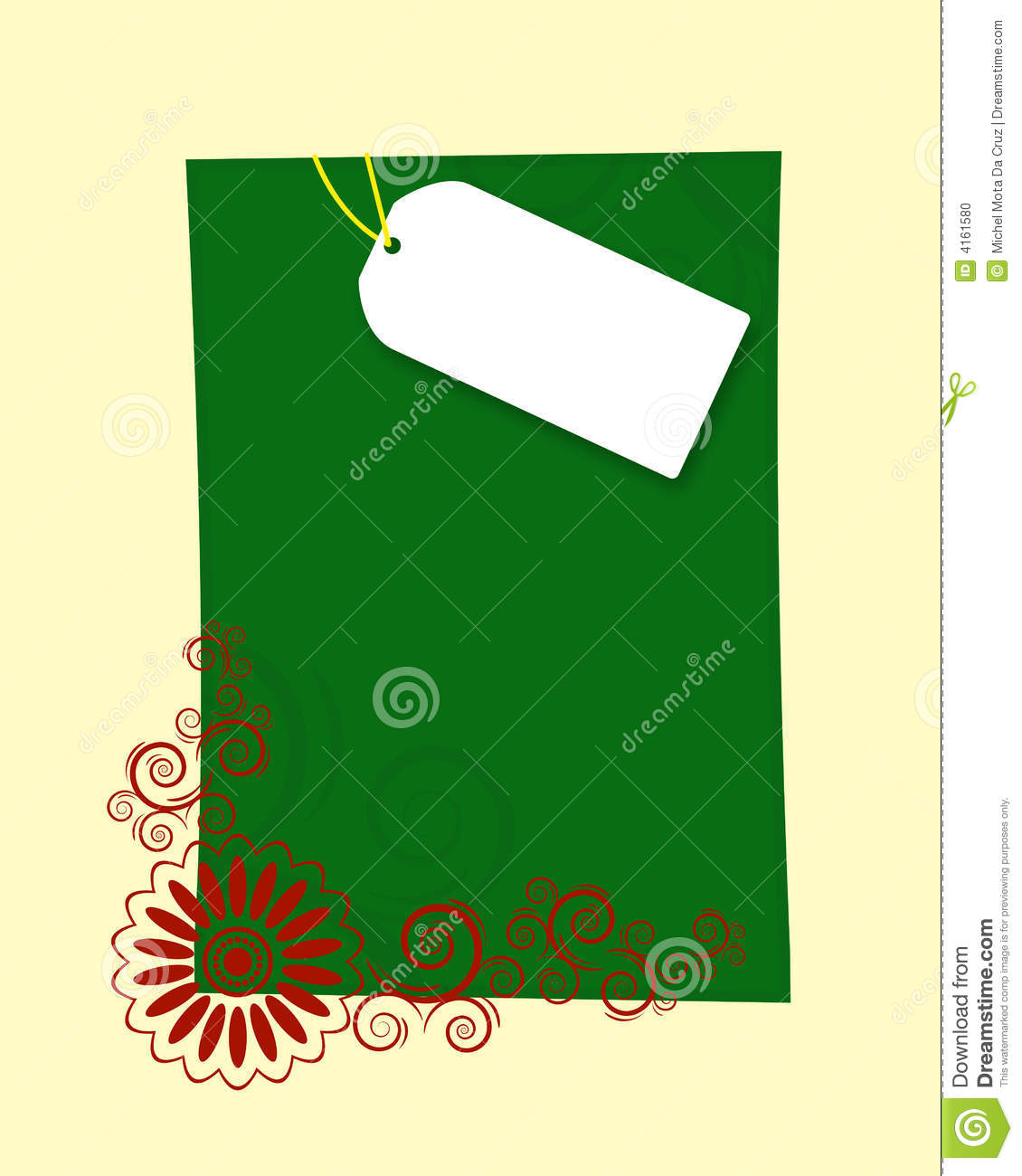 Christmas Letter Frame Stock Illustration Illustration Of Framed