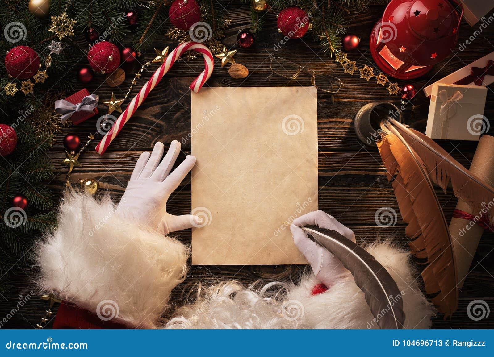 Christmas Decoration Wooden Letters Decoration Desktop Santa Clause Ornament