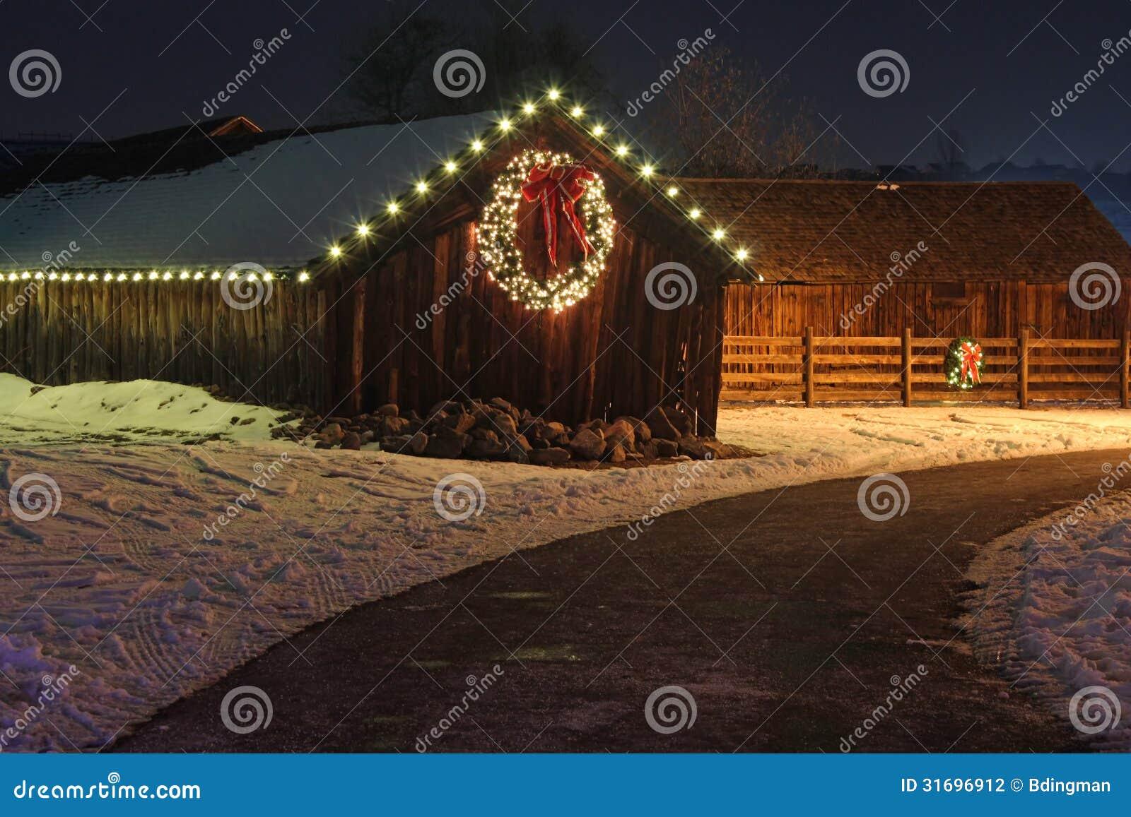 Christmas Lights Stock Photography Image 31696912