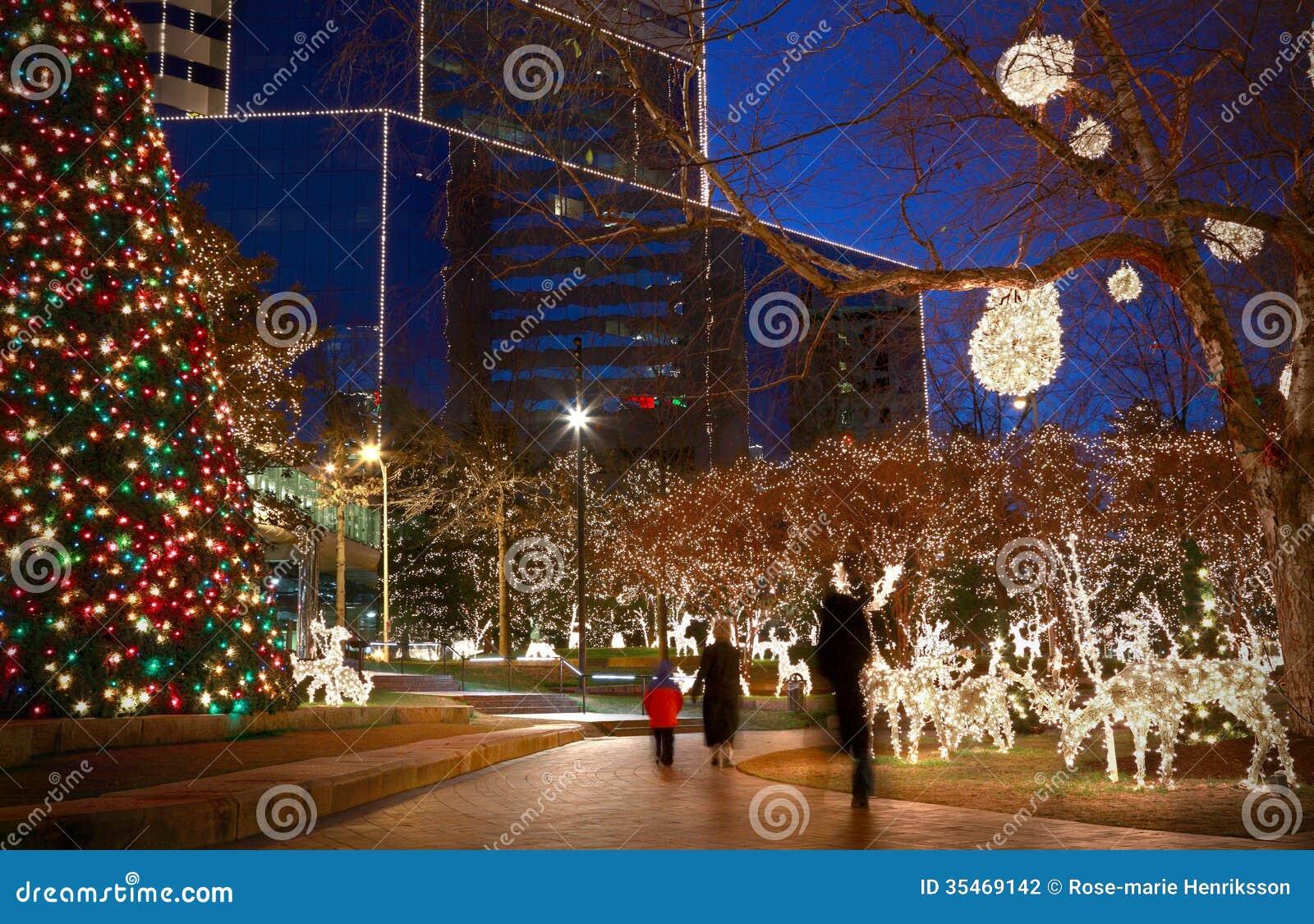 Christmas Lights Stock Photography Image 35469142