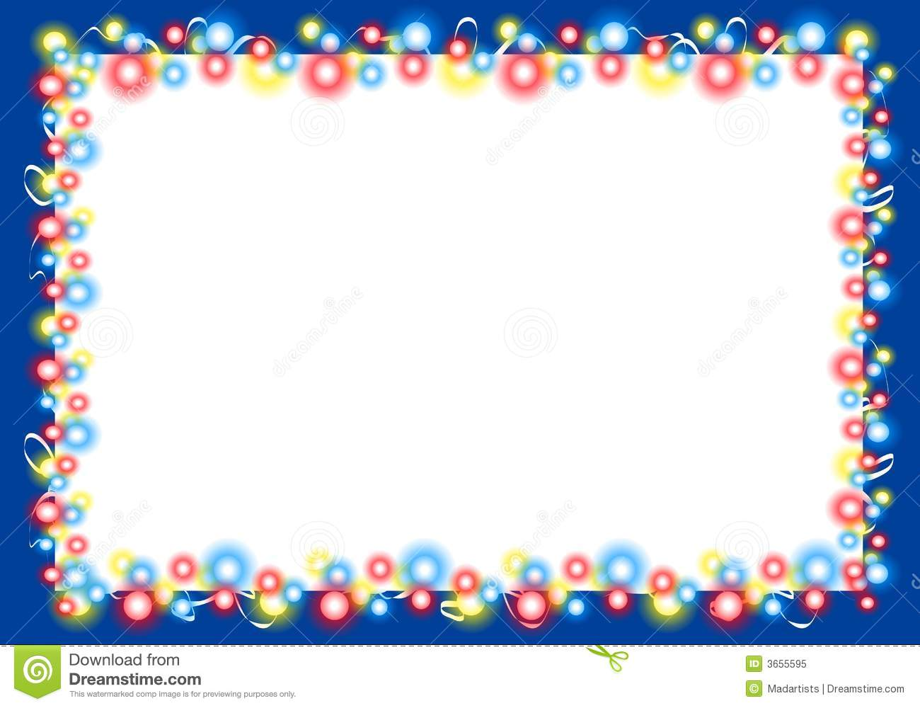 christmas lights border frame 2 stock photo 3655595 megapixl