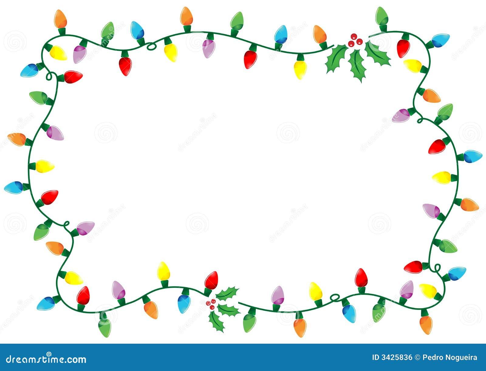Christmas Lights Border Png
