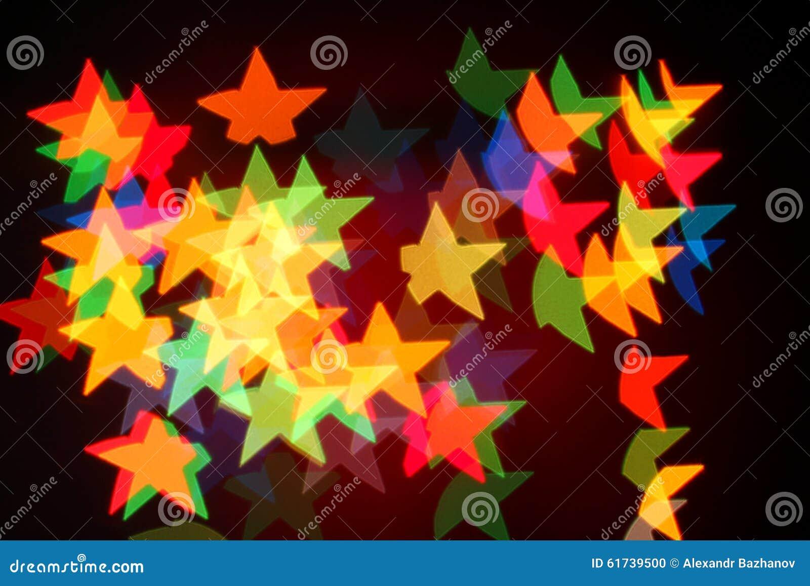 Christmas lights garland background garlands shape stars 61739500 jpg
