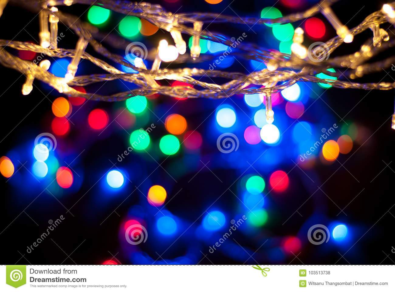 Download Christmas Lights Light Glitter Vintage On Wood Backgroundbokeh Backgrounddefocused