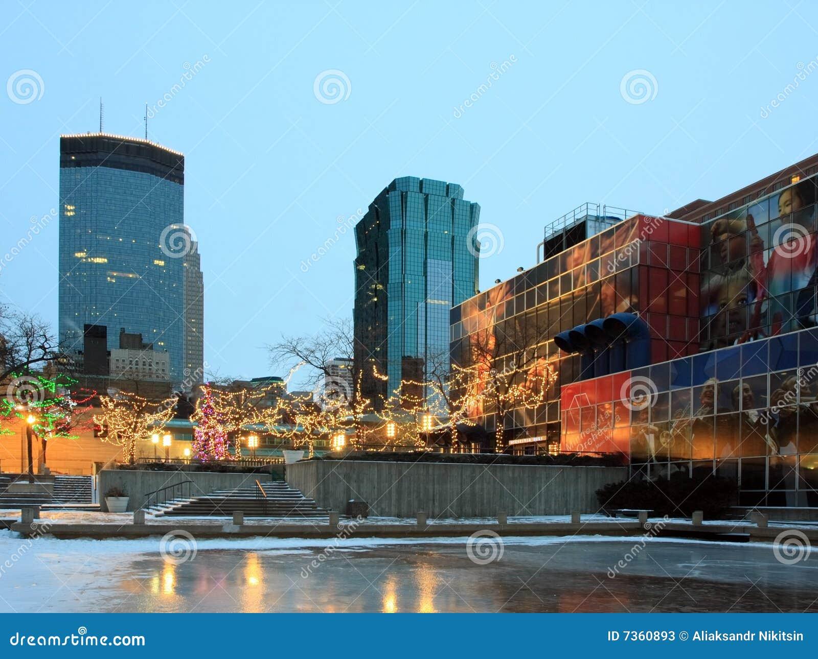 christmas decoration downtown minneapolis - Christmas Lights Minneapolis
