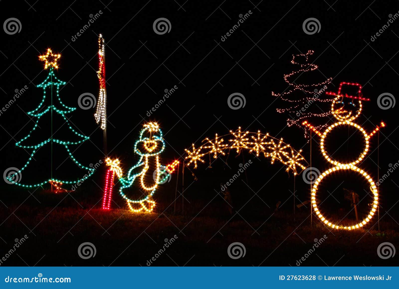 4 Christmas Tree With Lights