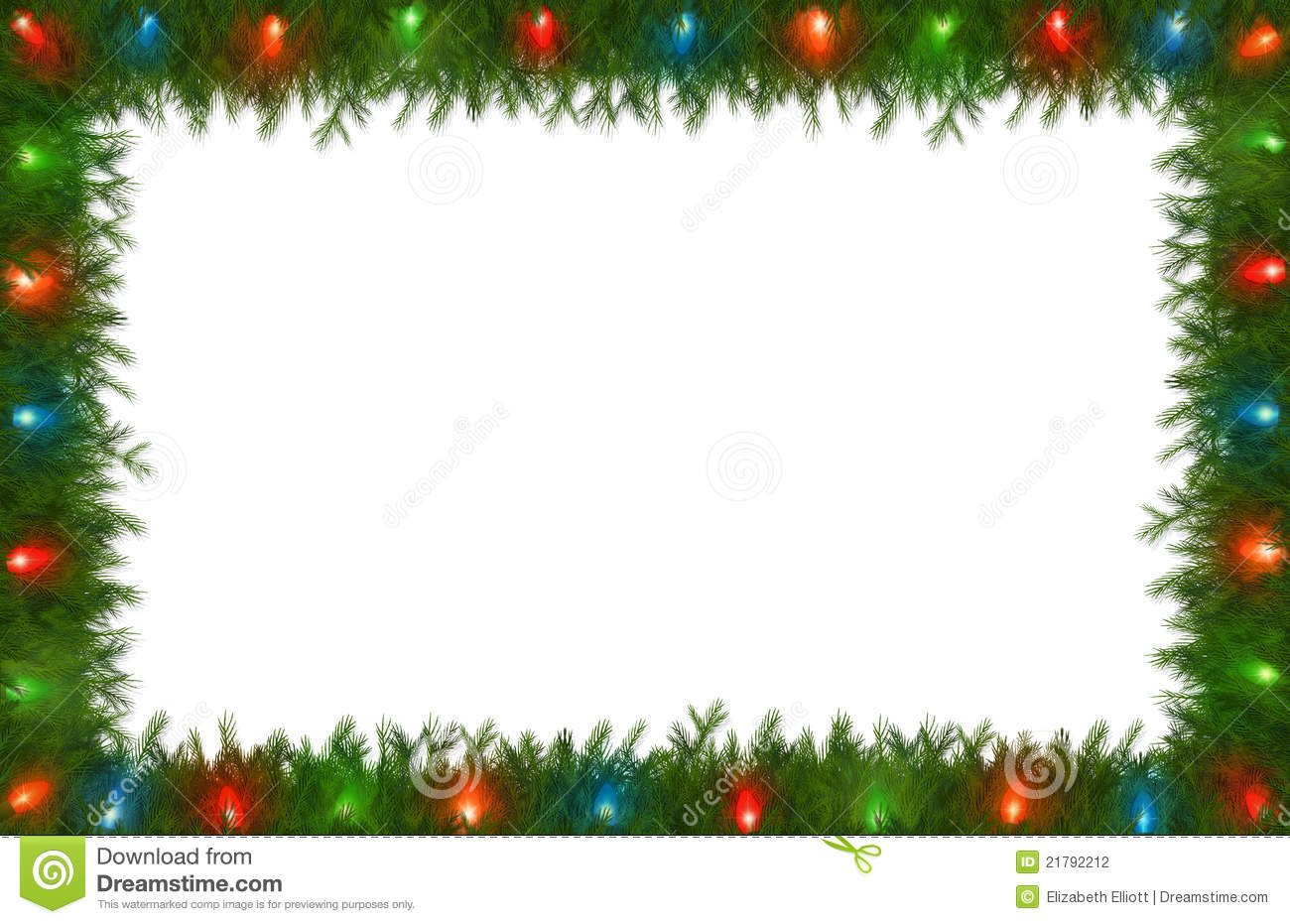 christmas picture border