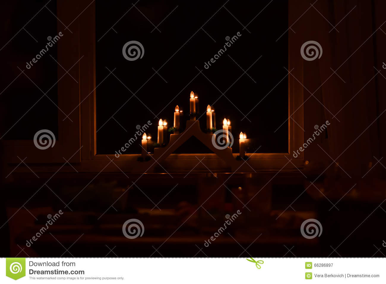 christmas lights stock photo image 66286897. Black Bedroom Furniture Sets. Home Design Ideas
