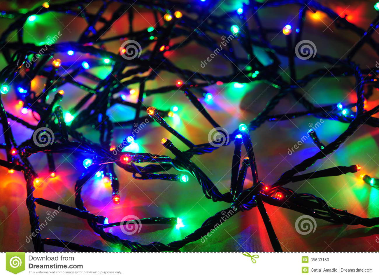 download christmas lights wire stock photo image of lights electric 35633150