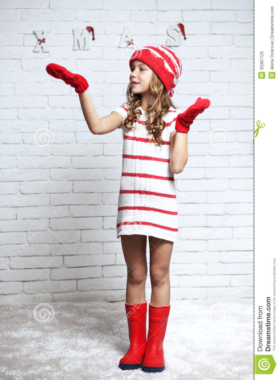 Christmas Stock Image Image Of Gloves Holiday Person 35387125