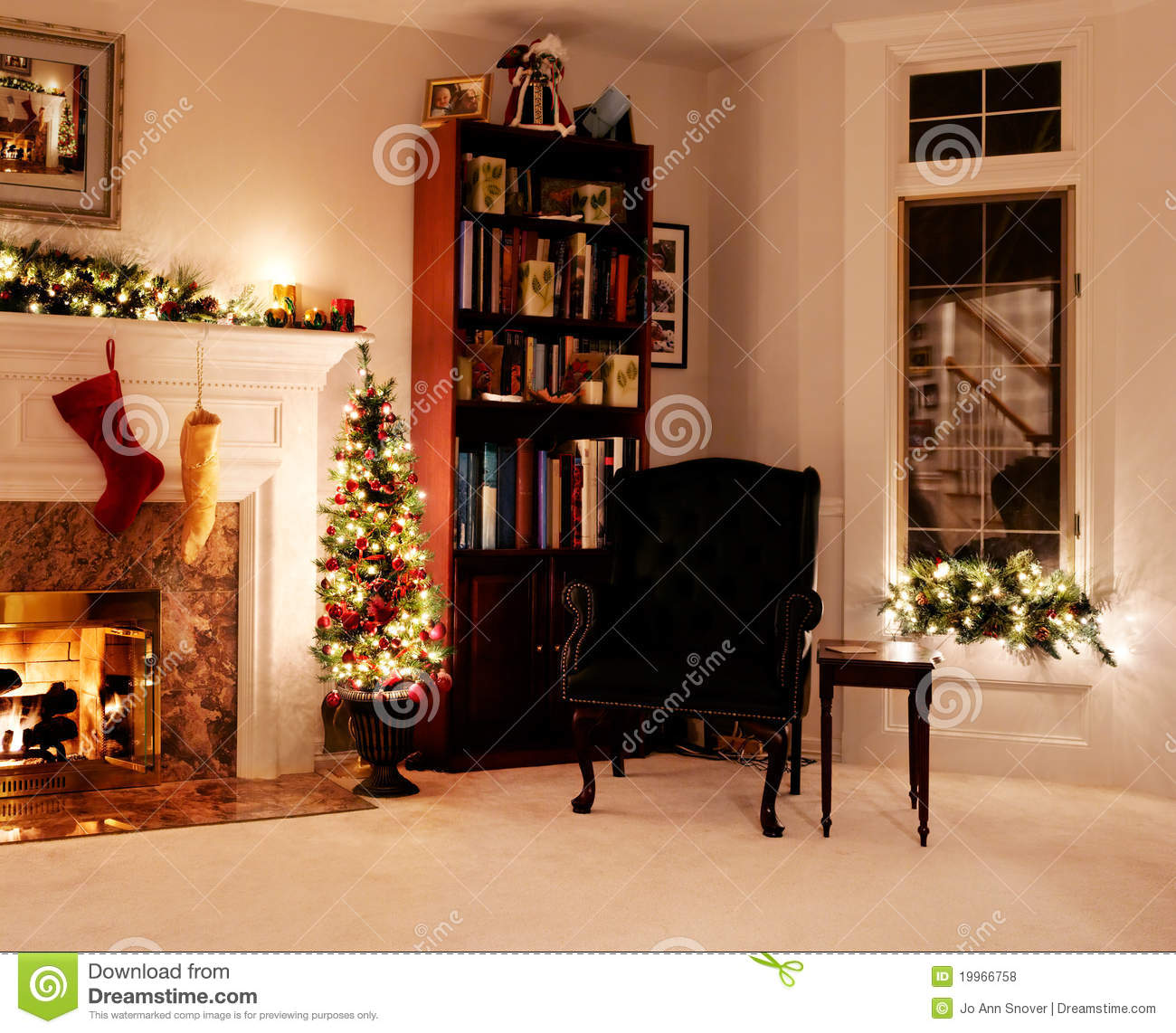 living rooms at christmas living room lights stock photo image 17172