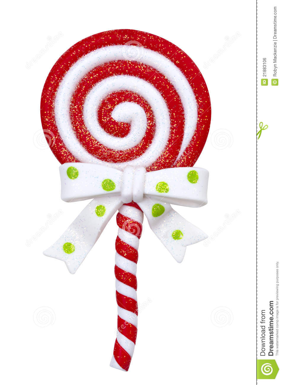 Christmas Lollipop Royalty Free Stock Image - Image: 21883106