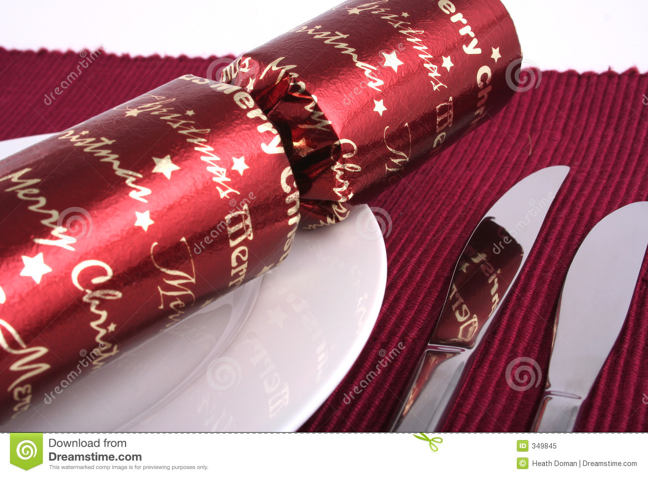 Christmas Lunch 4 Royalty Free Stock Photo Image 349845