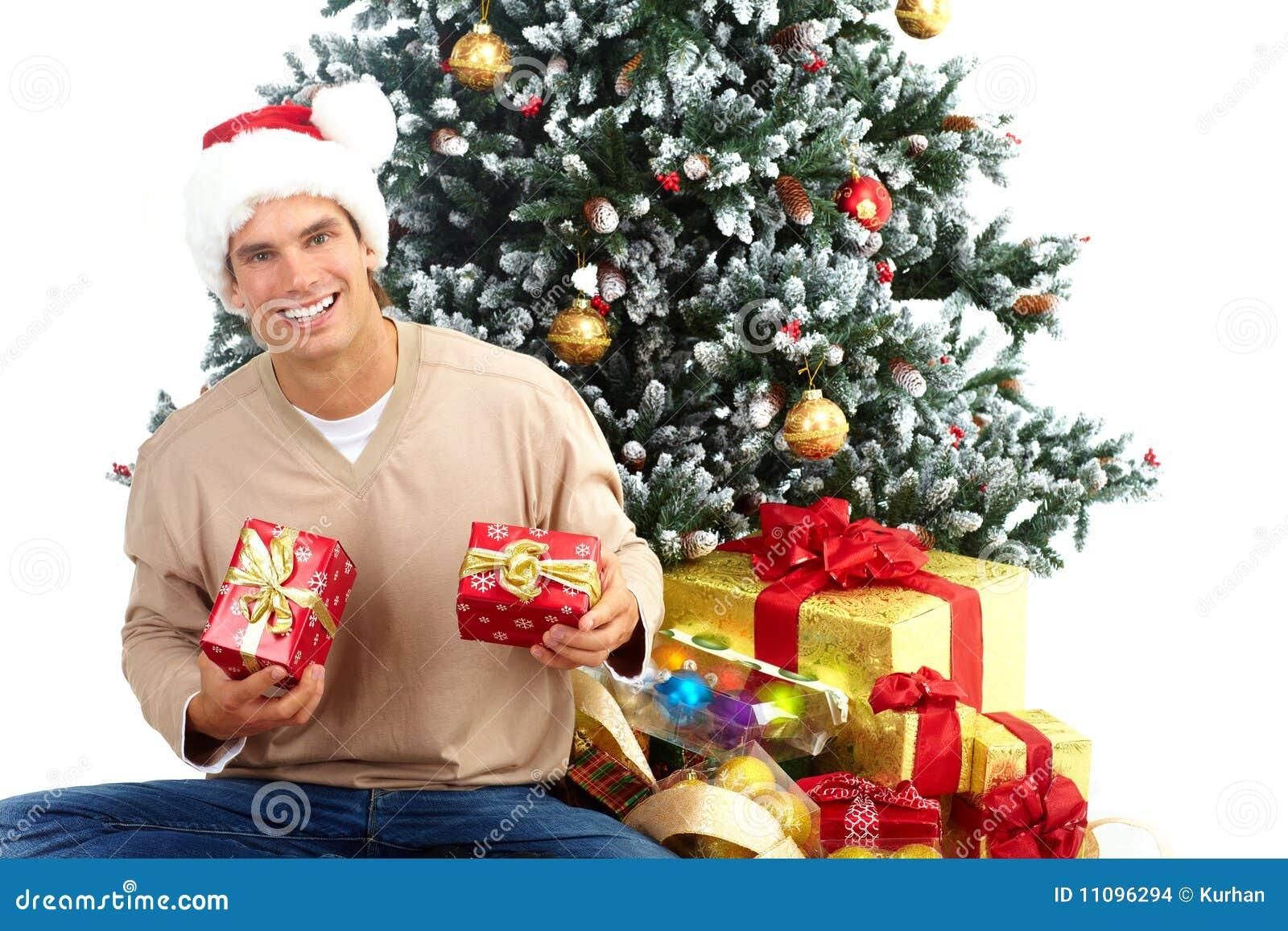 Christmas Man Stock Images - Image: 11096294