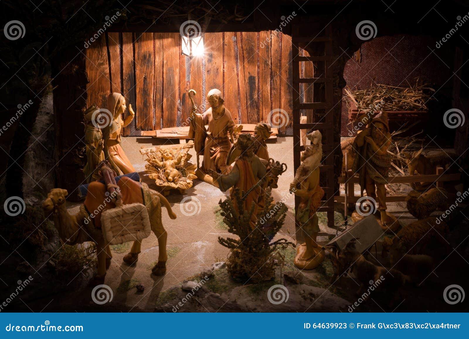 download christmas manger scene stock image image of holy december 64639923