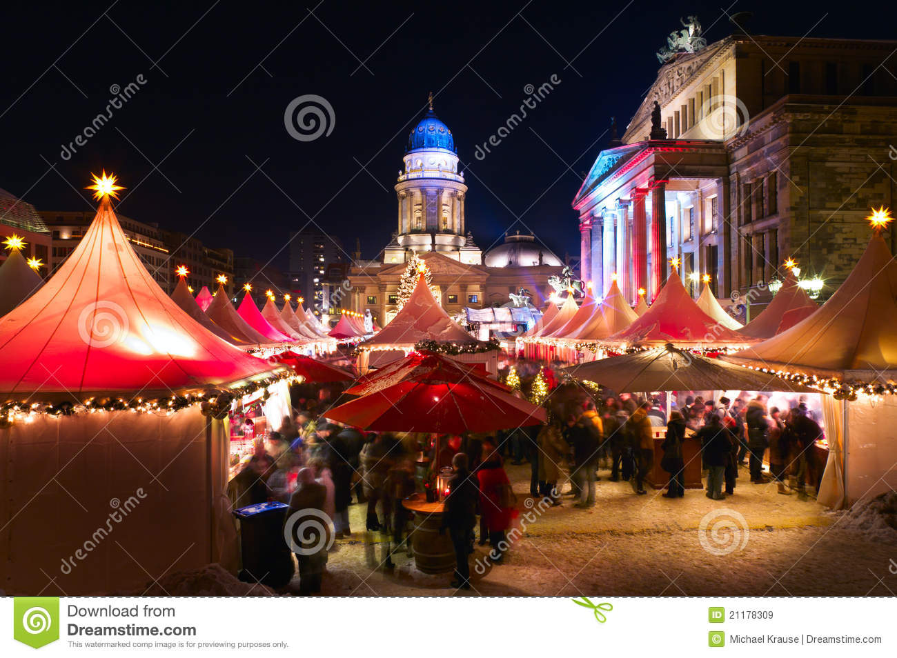 Christmas market in Berlin, Germany