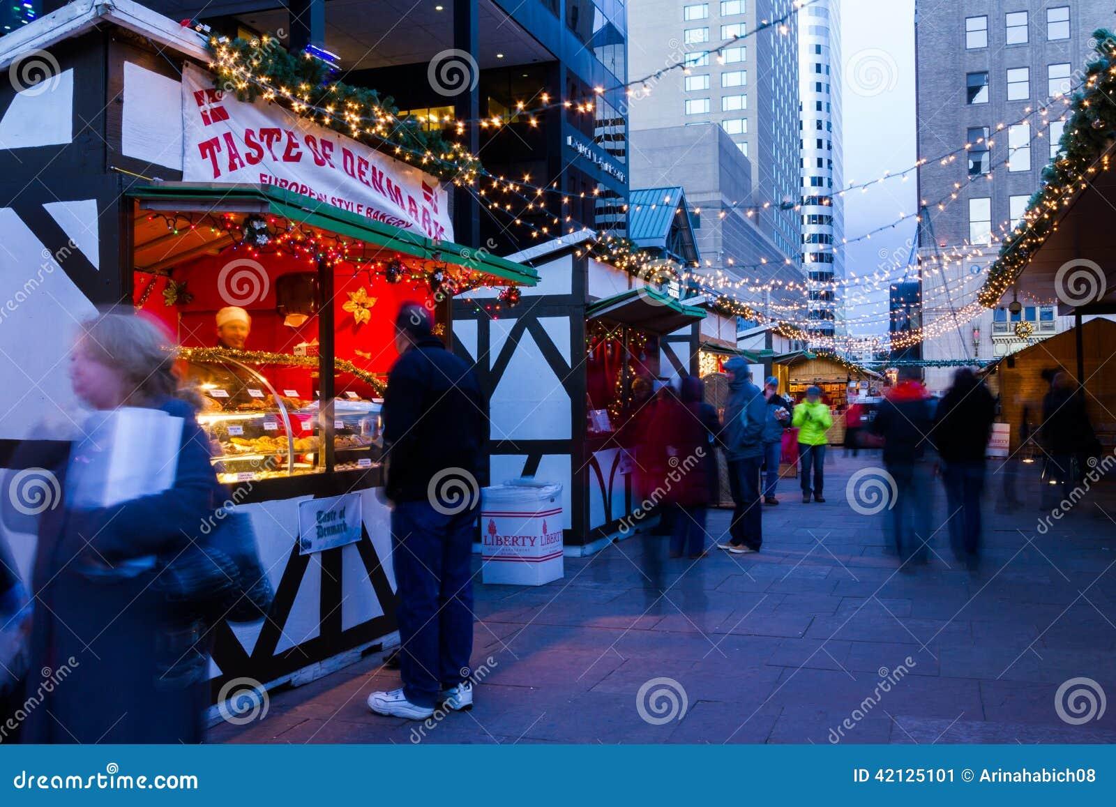 Christmas Market Editorial Photo Image 42125101
