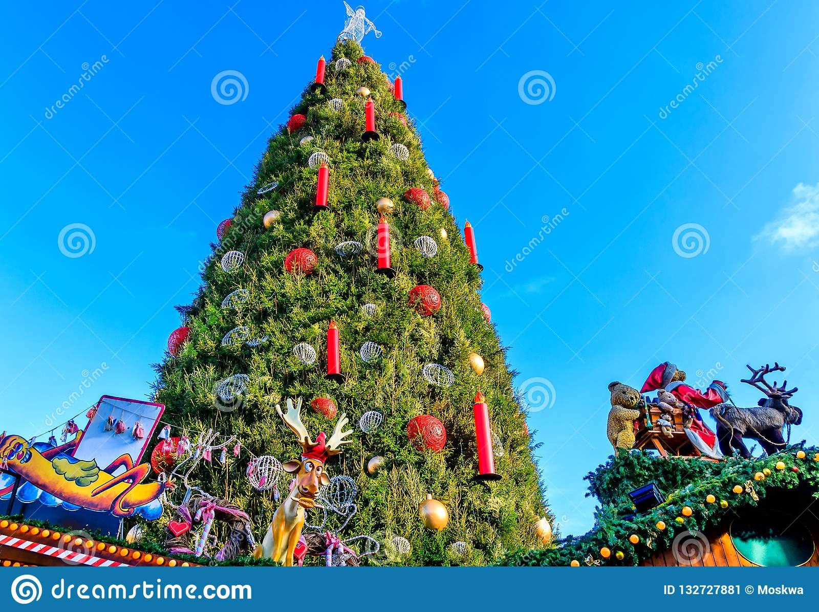 Christmas Market In The German Town Of Dortmund Stock Image Image Of German International 132727881