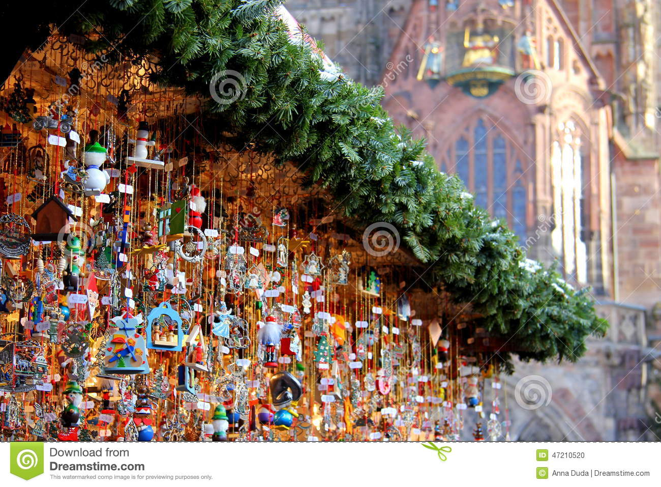Nuremberg Christmas Market.Christmas Market Stock Photo Image Of Twigs Christmas