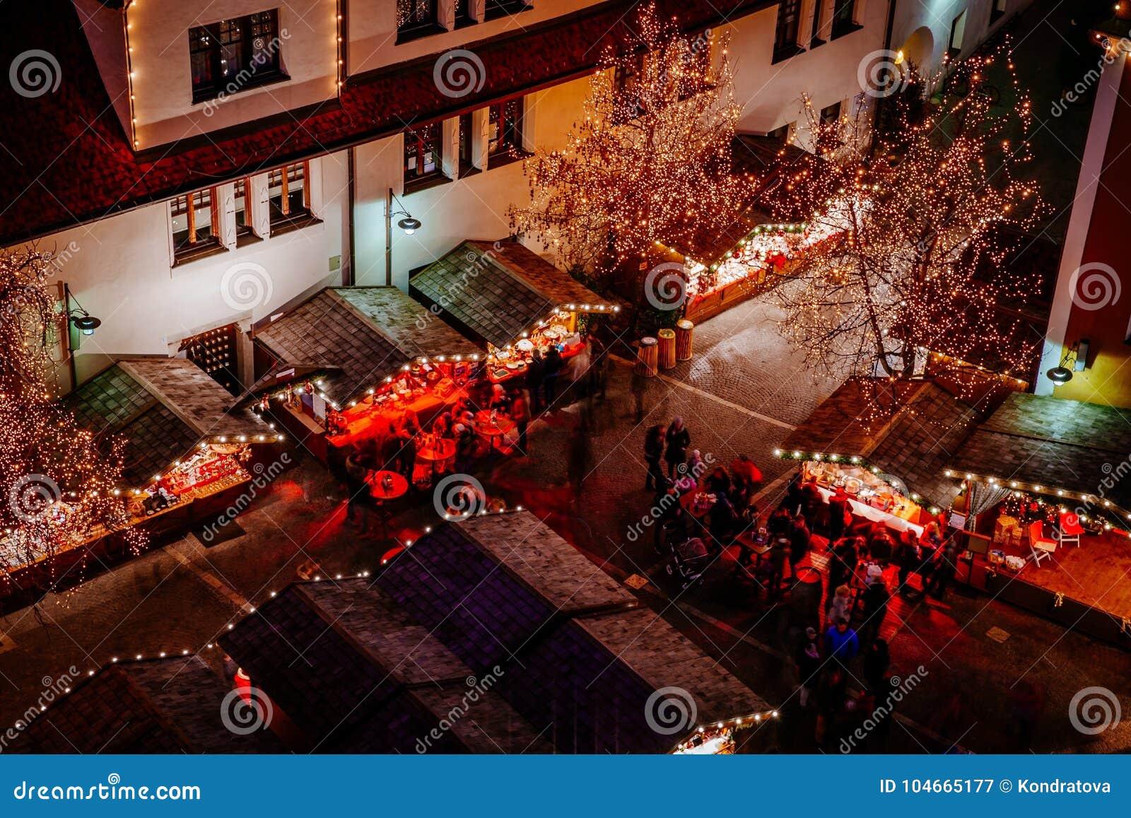 Christmas Market in Vipiteno, Bolzano, Trentino Alto Adige, Italy