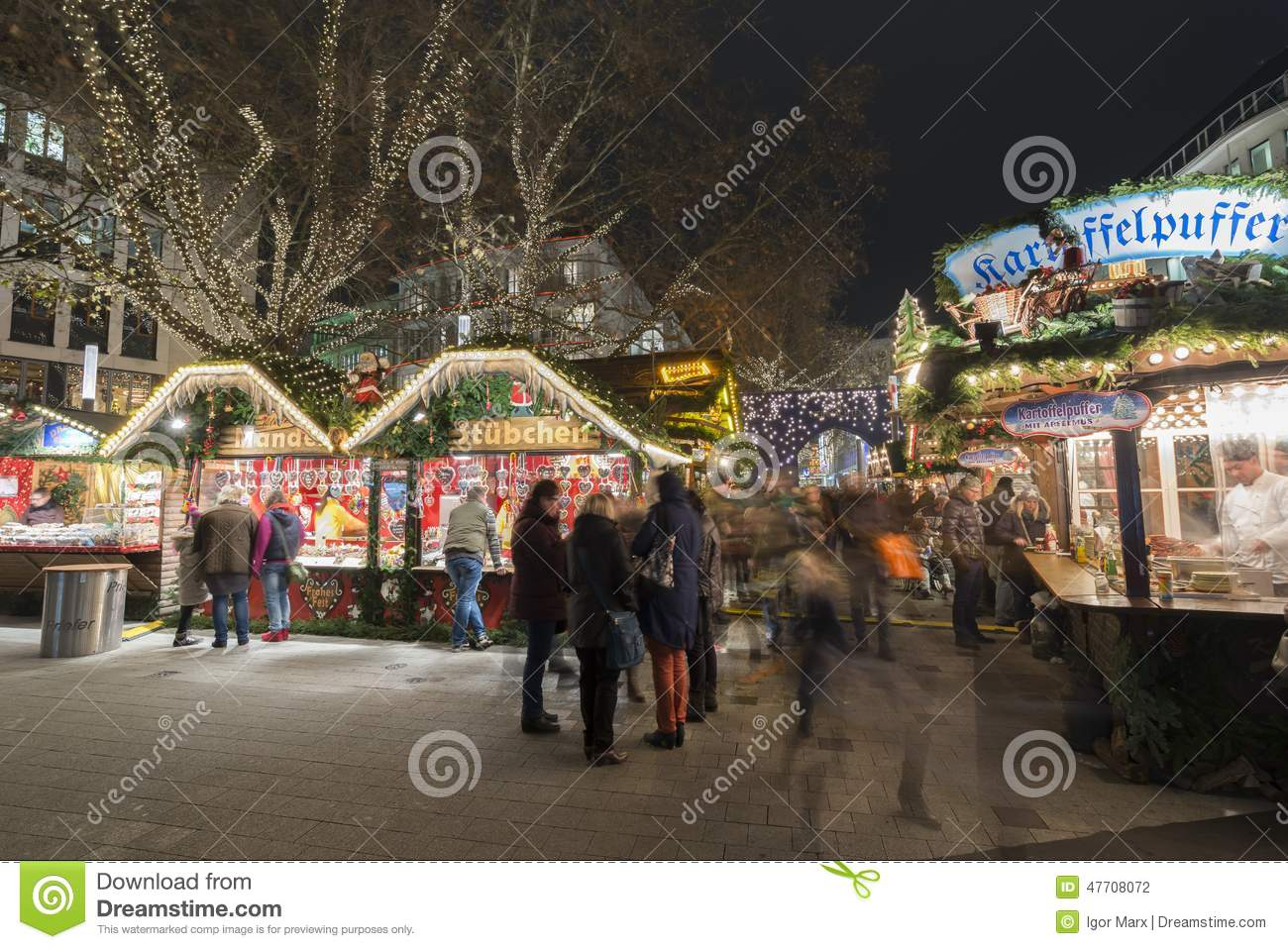 christmas markt in hannover editorial photography image 47708072. Black Bedroom Furniture Sets. Home Design Ideas