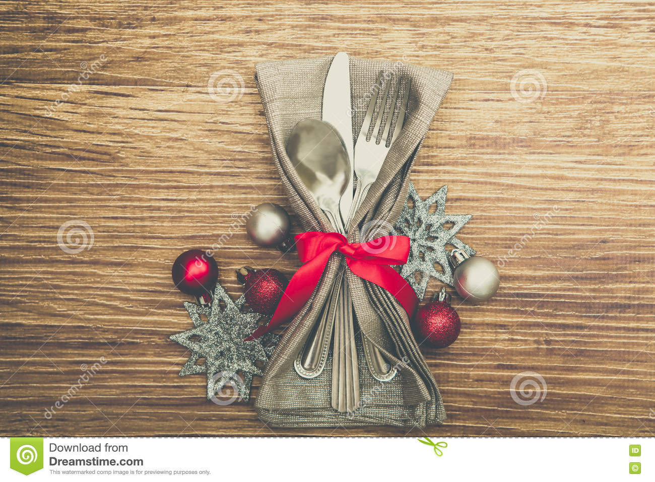Table Setting Background christmas meal table setting background stock photo - image: 80918798