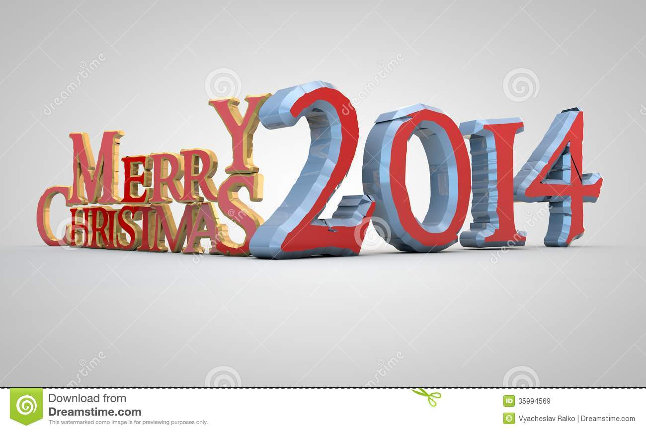 Christmas 2014 Royalty Free Stock Images - Image: 35994569