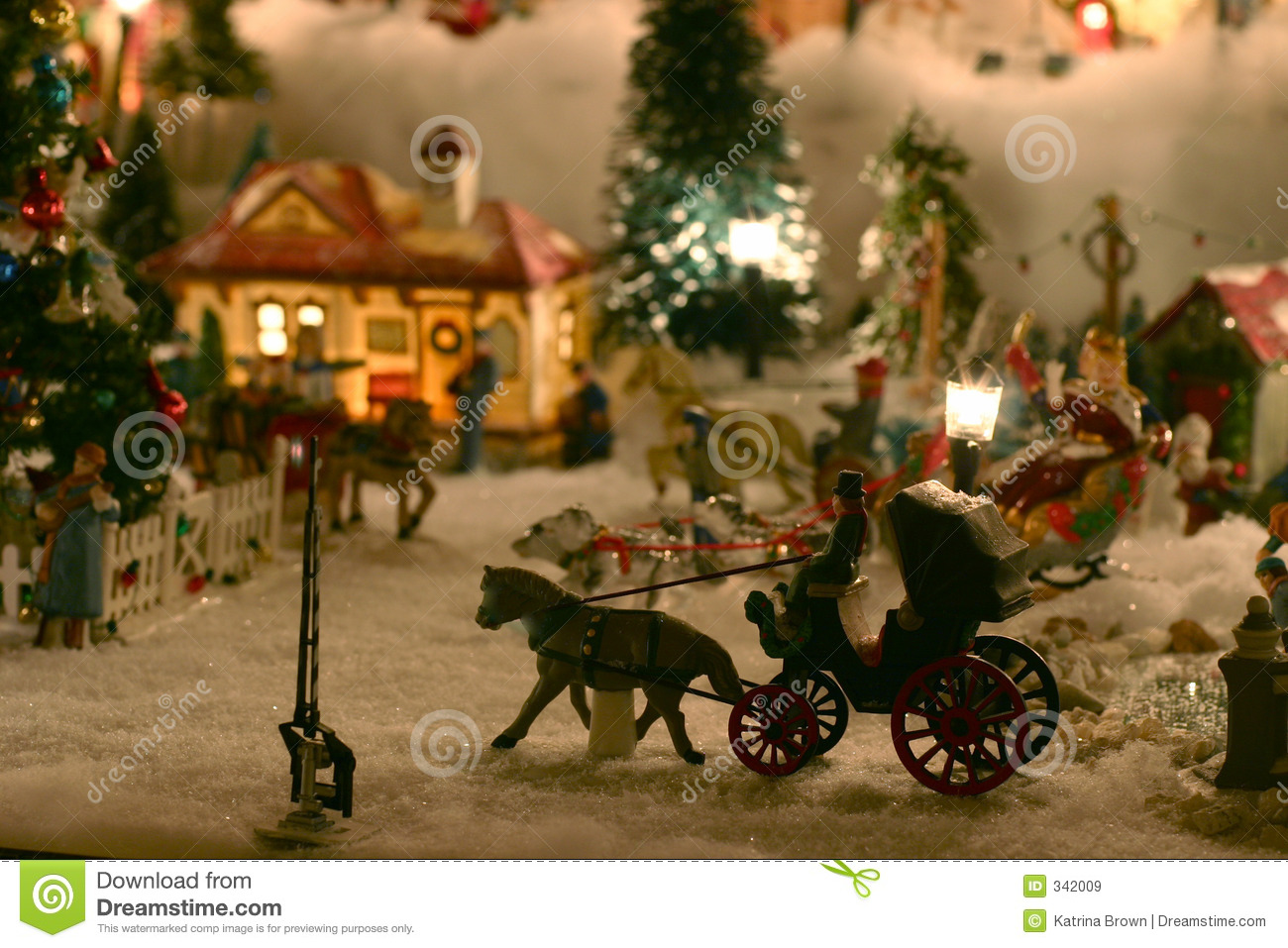 Christmas miniature village stock image image 342009 - The tiny house village a miniature settlement ...