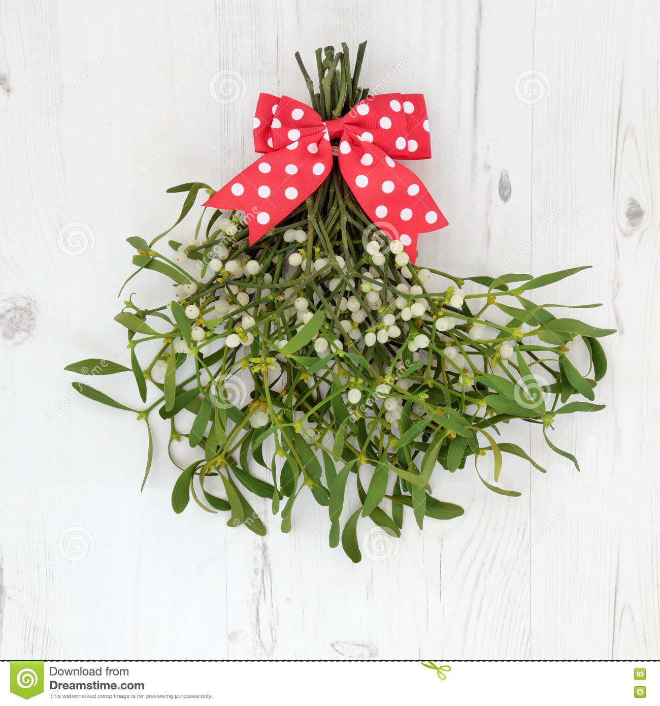 christmas mistletoe decoration