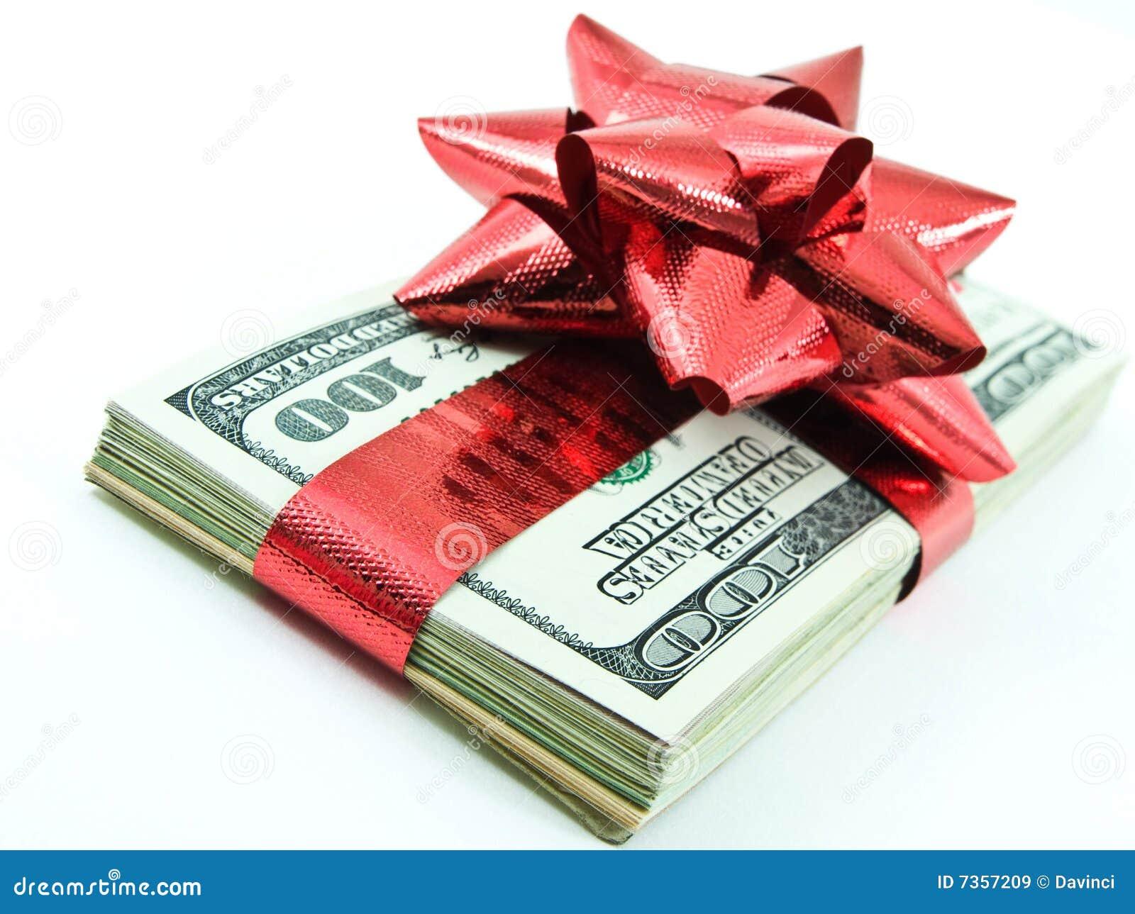 Christmas Money Royalty Free Stock Images - Image: 7357209