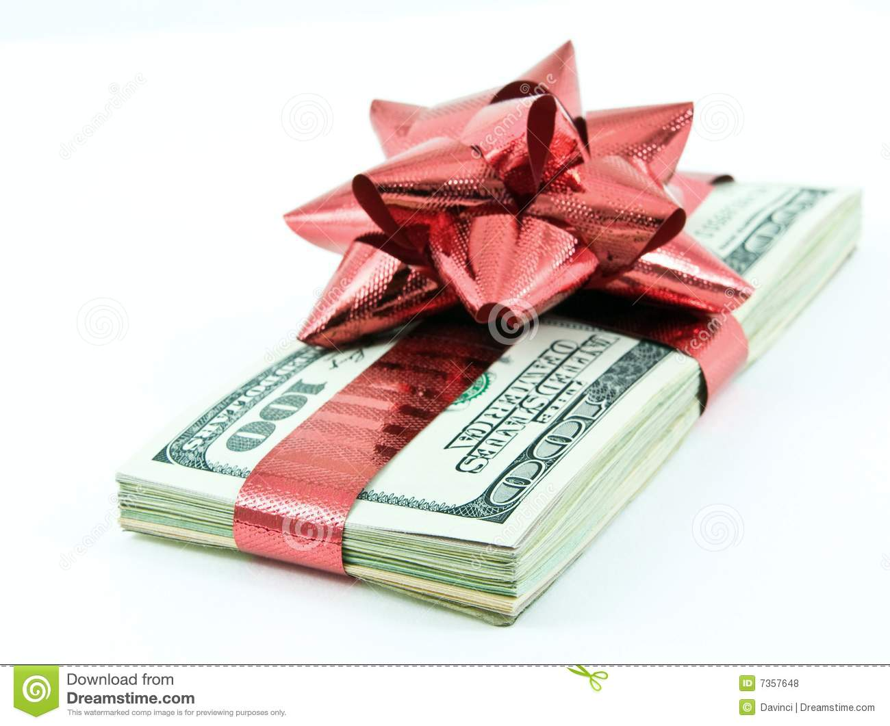 Christmas Money Royalty Free Stock Photos - Image: 7357648