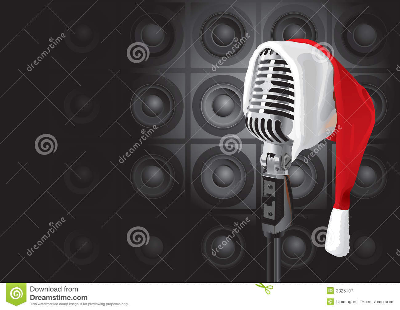 Christmas Music Event (vector) Royalty Free Stock Photography - Image ...