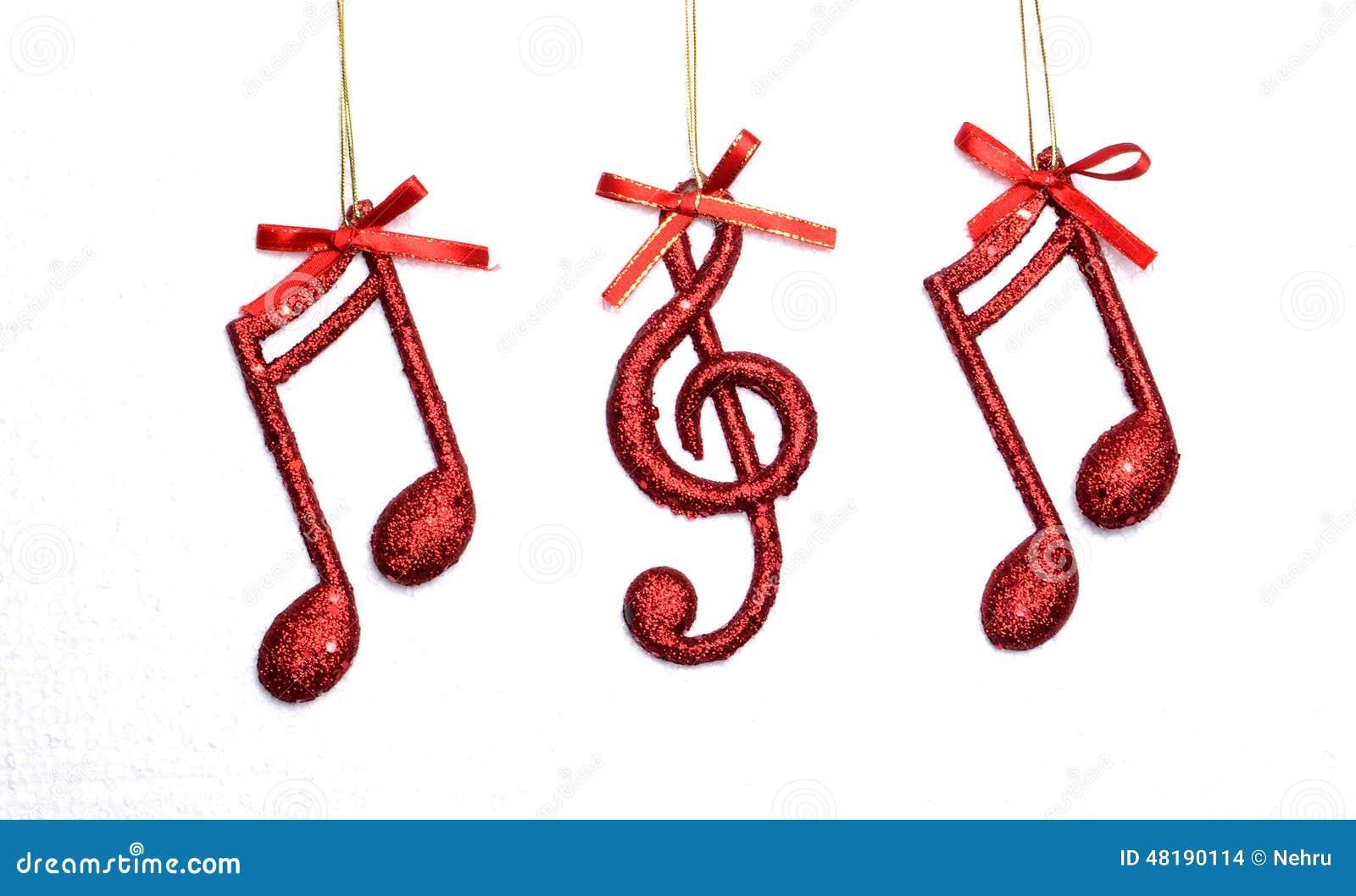 Christmas Music Note,Christmas Scene, Decoration Stock Photo ...