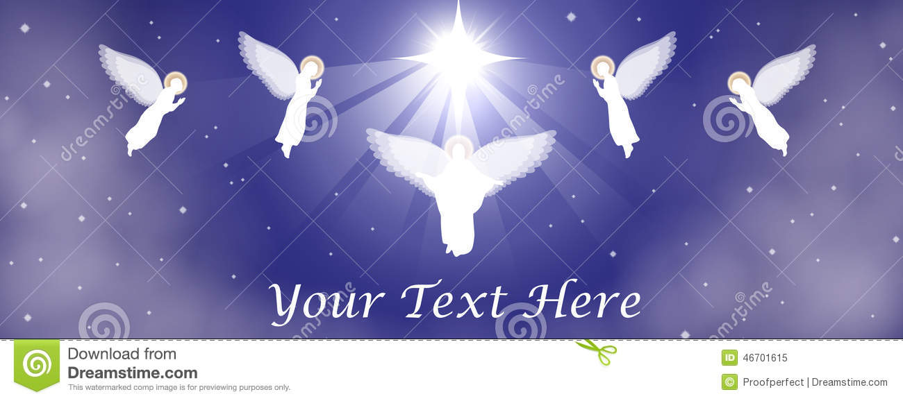 Christmas Nativity Banner Stock Vector Image Of