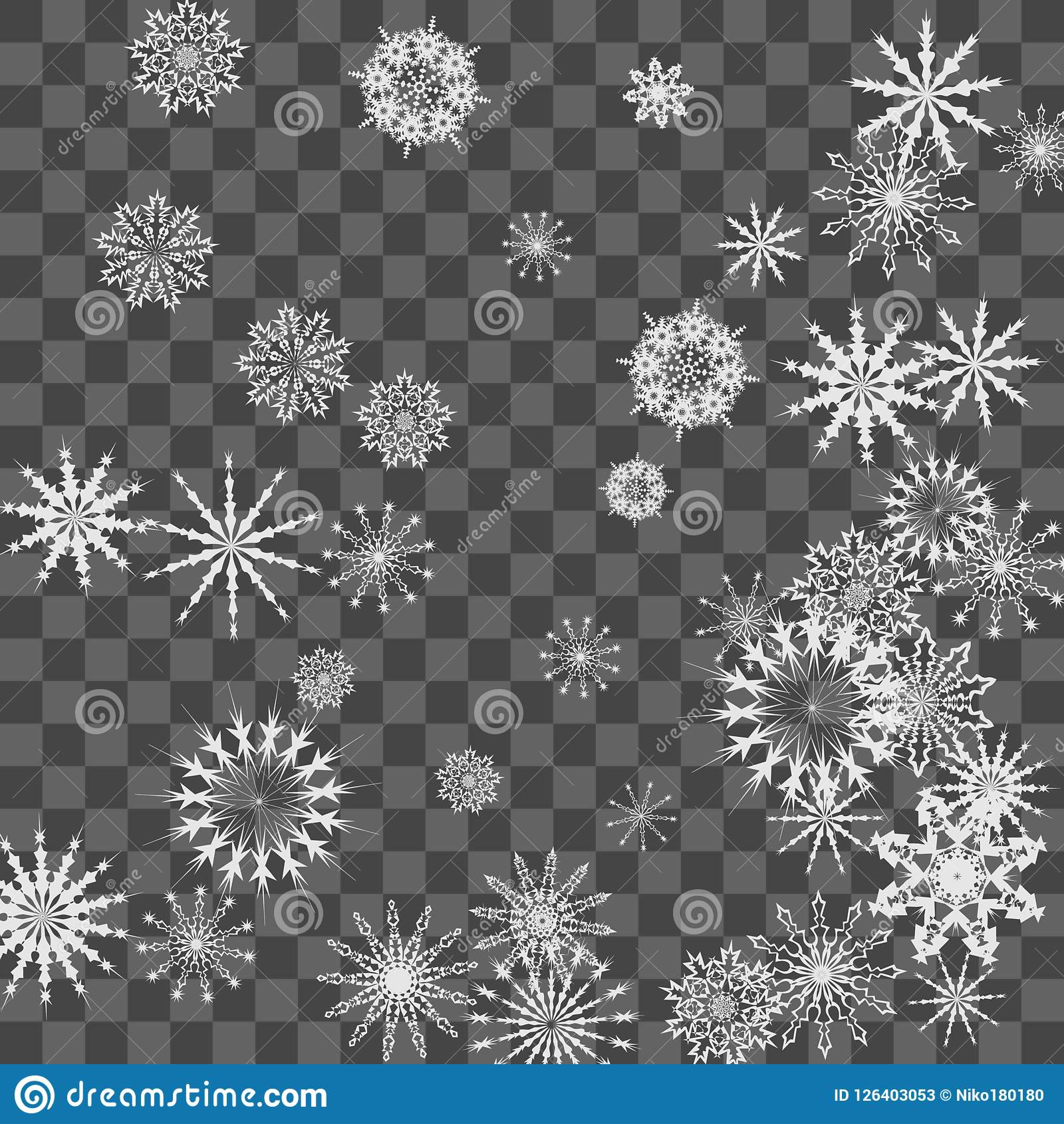 download christmas and new year background with snowflakes stock vector illustration of fashion decoration