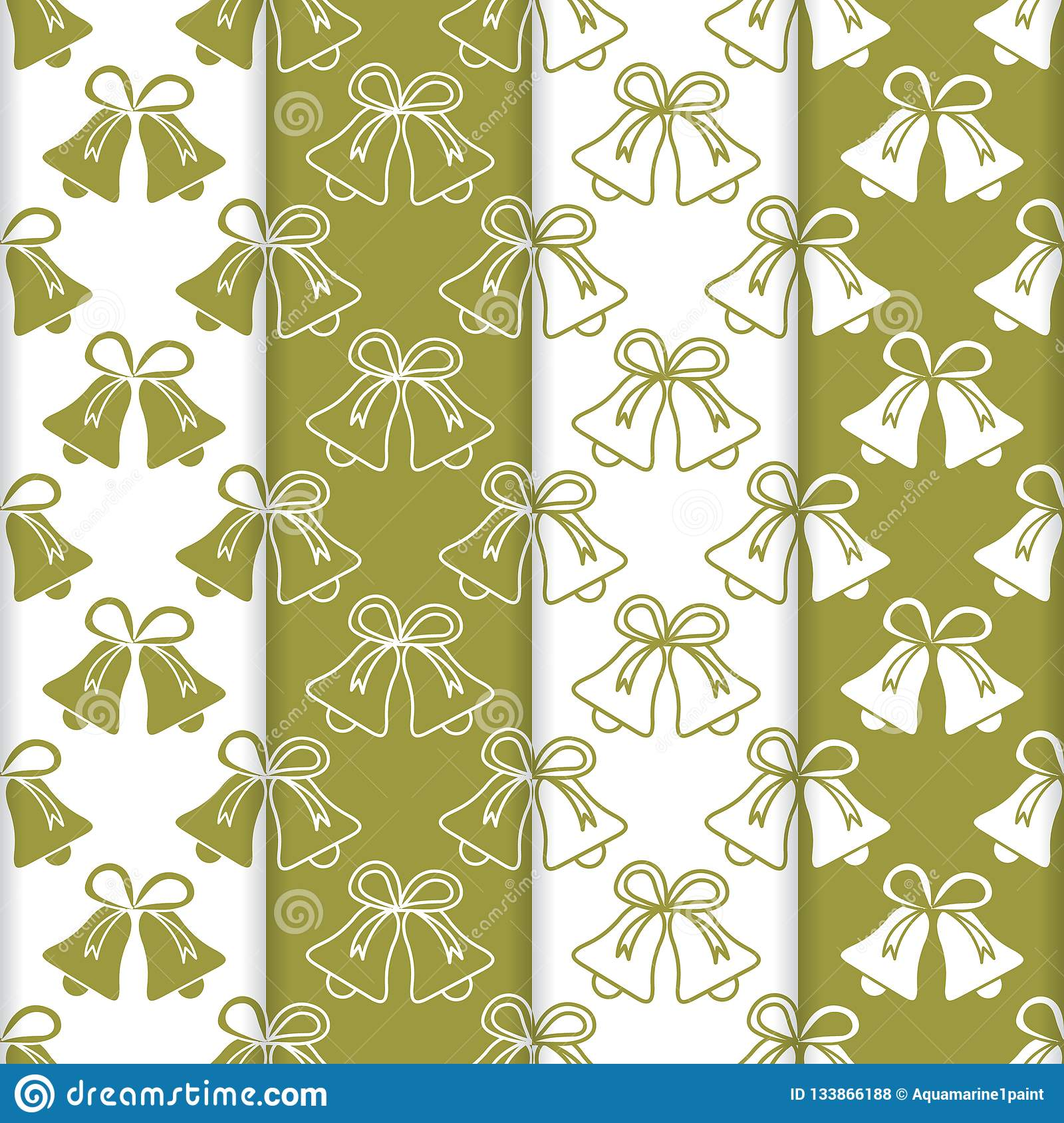 Christmas Fabric 2019.4 Christmas New Year 2019 Backgrounds With Bells Stock