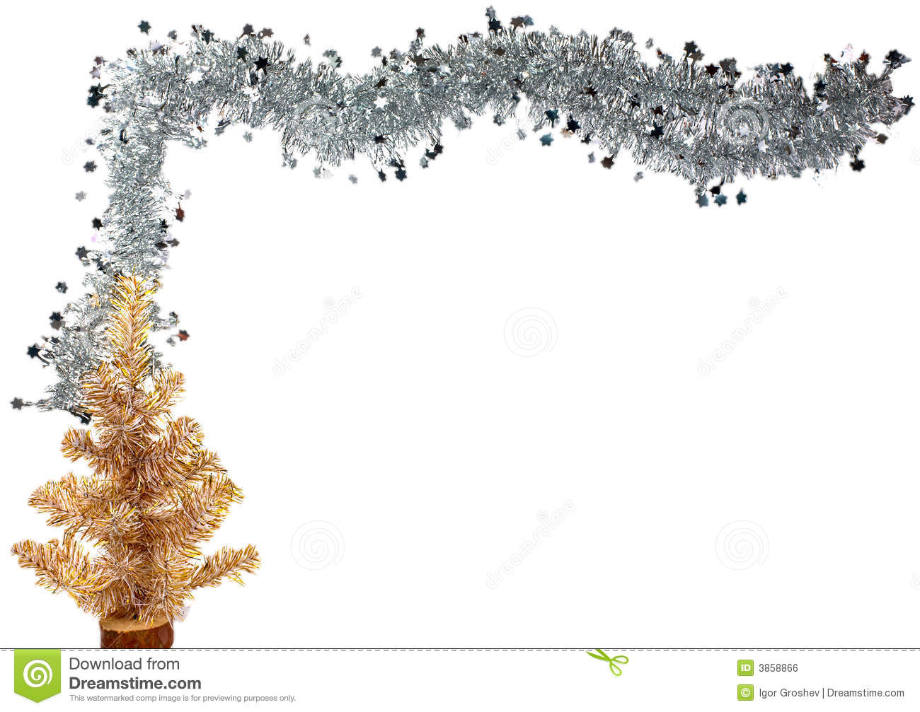 christmas or new year border