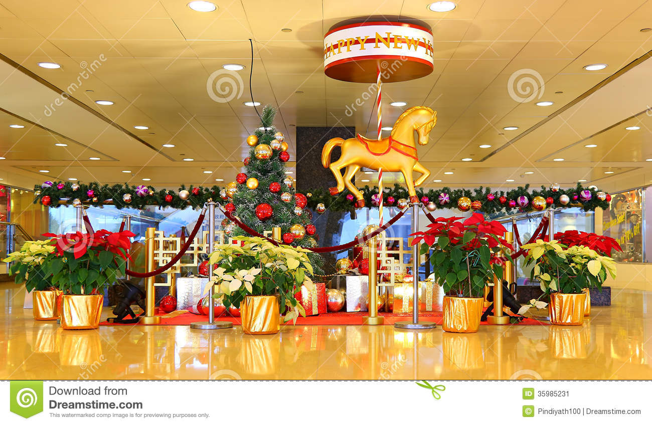 Christmas and new year decoration stock image image for New christmas decorations
