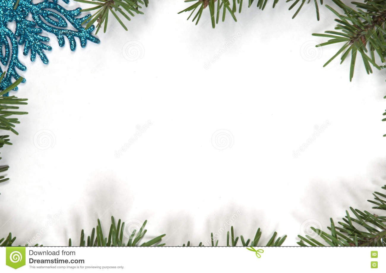 christmas and new year frame border background