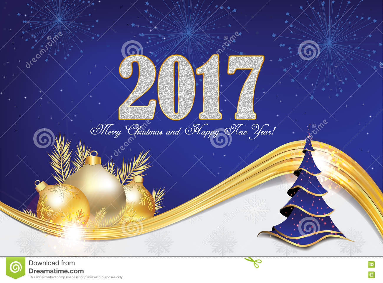 Christmas and new year greeting card 2017 stock photo 78623311 christmas and new year greeting card 2017 stock photo 78623311 megapixl kristyandbryce Image collections