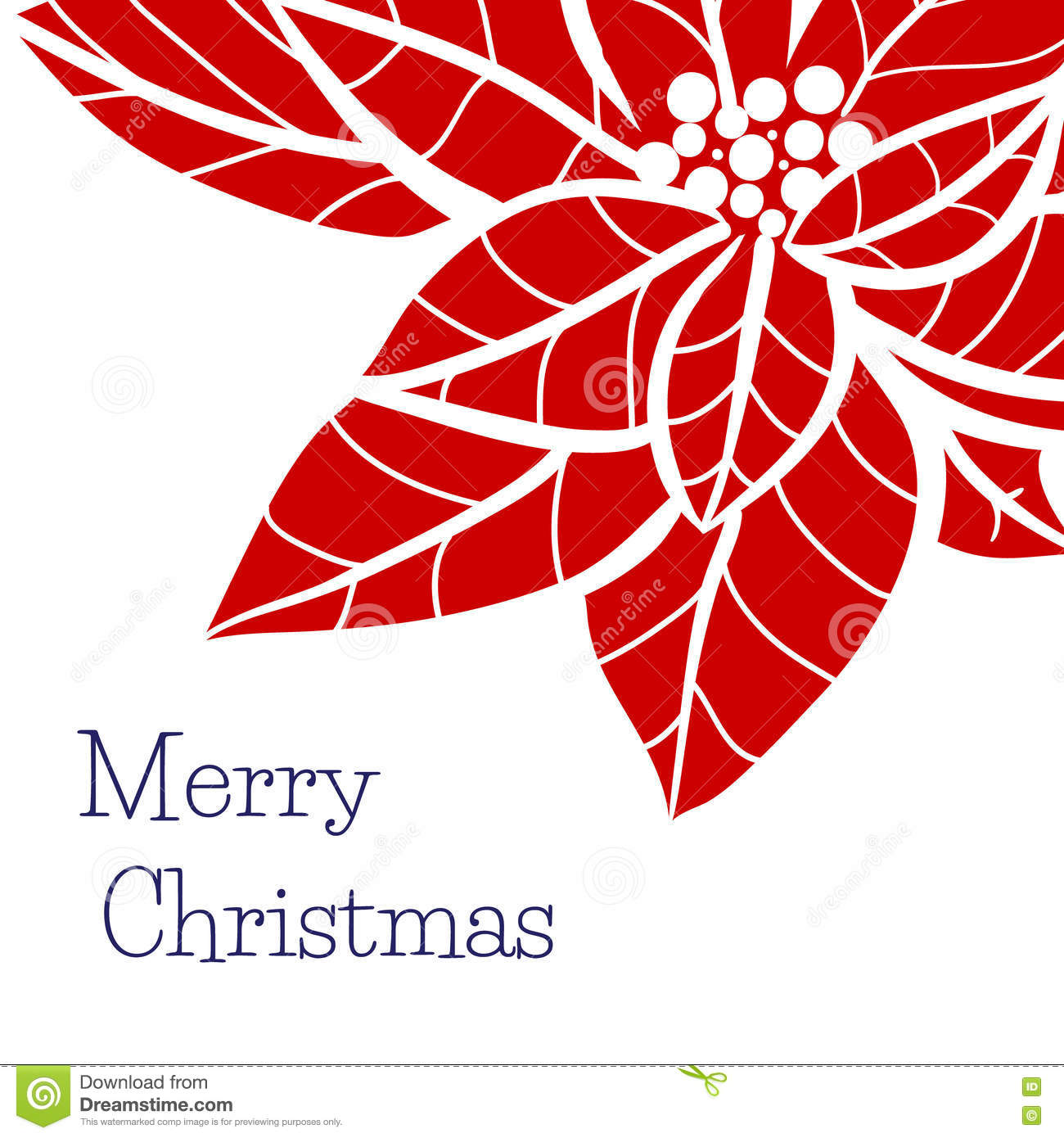 christmas and new year greeting card template with hand