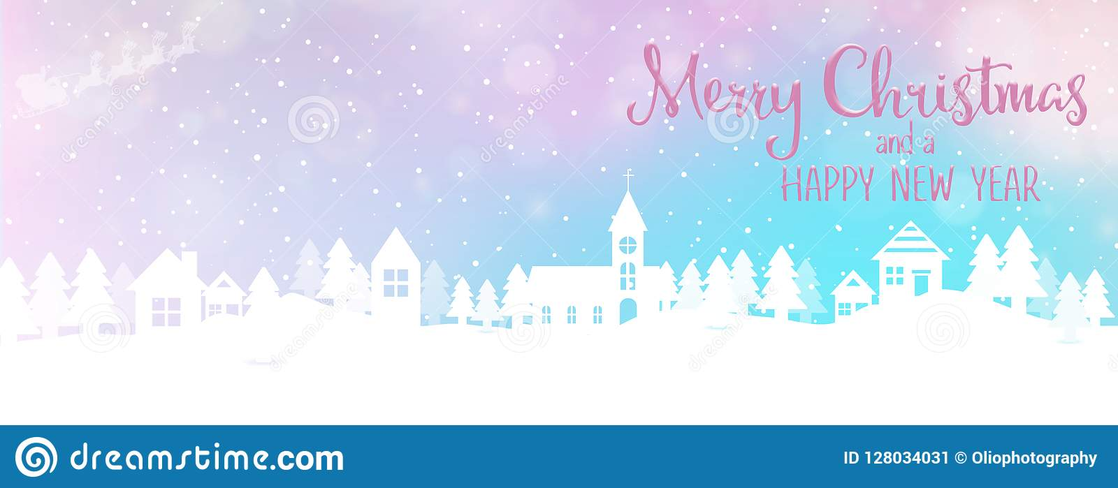 christmas and new year holiday background banner with seasonal quote scales to facebook size perfect for social media influencers and bloggers