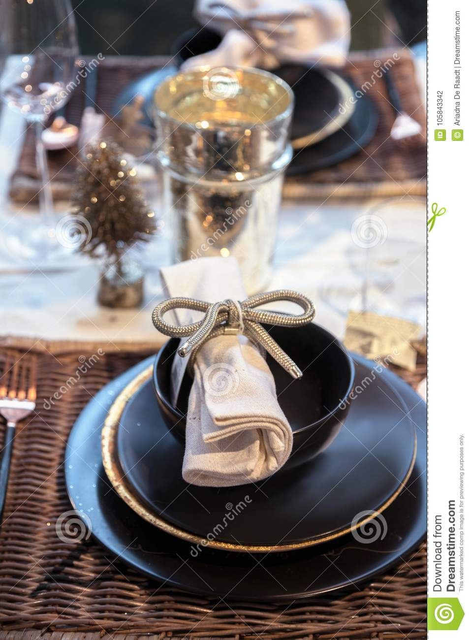 Terrific Holiday Table Decorations Stock Photo Image Of Style Download Free Architecture Designs Scobabritishbridgeorg