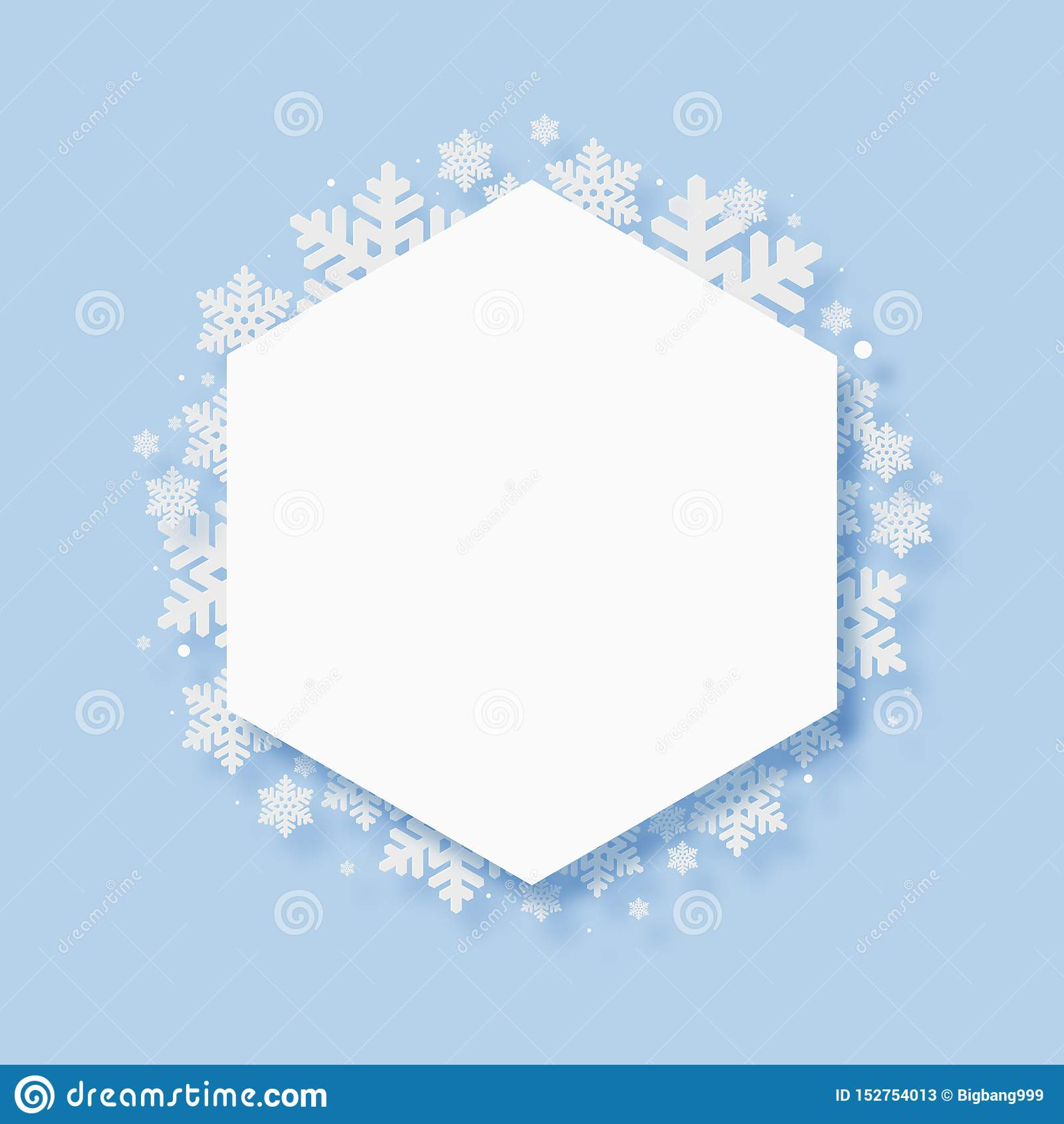 Christmas Paper Cutting Art Background