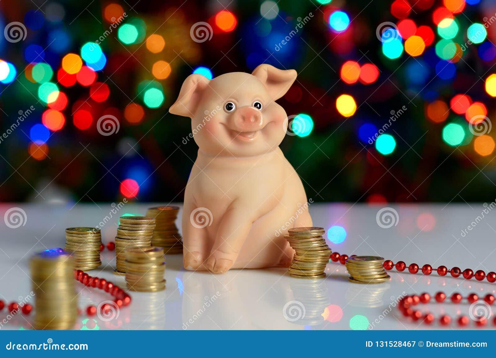 Christmas 2019 Bank Holidays.Christmas New Year Piggy Bank Holiday 2019 The Year Of