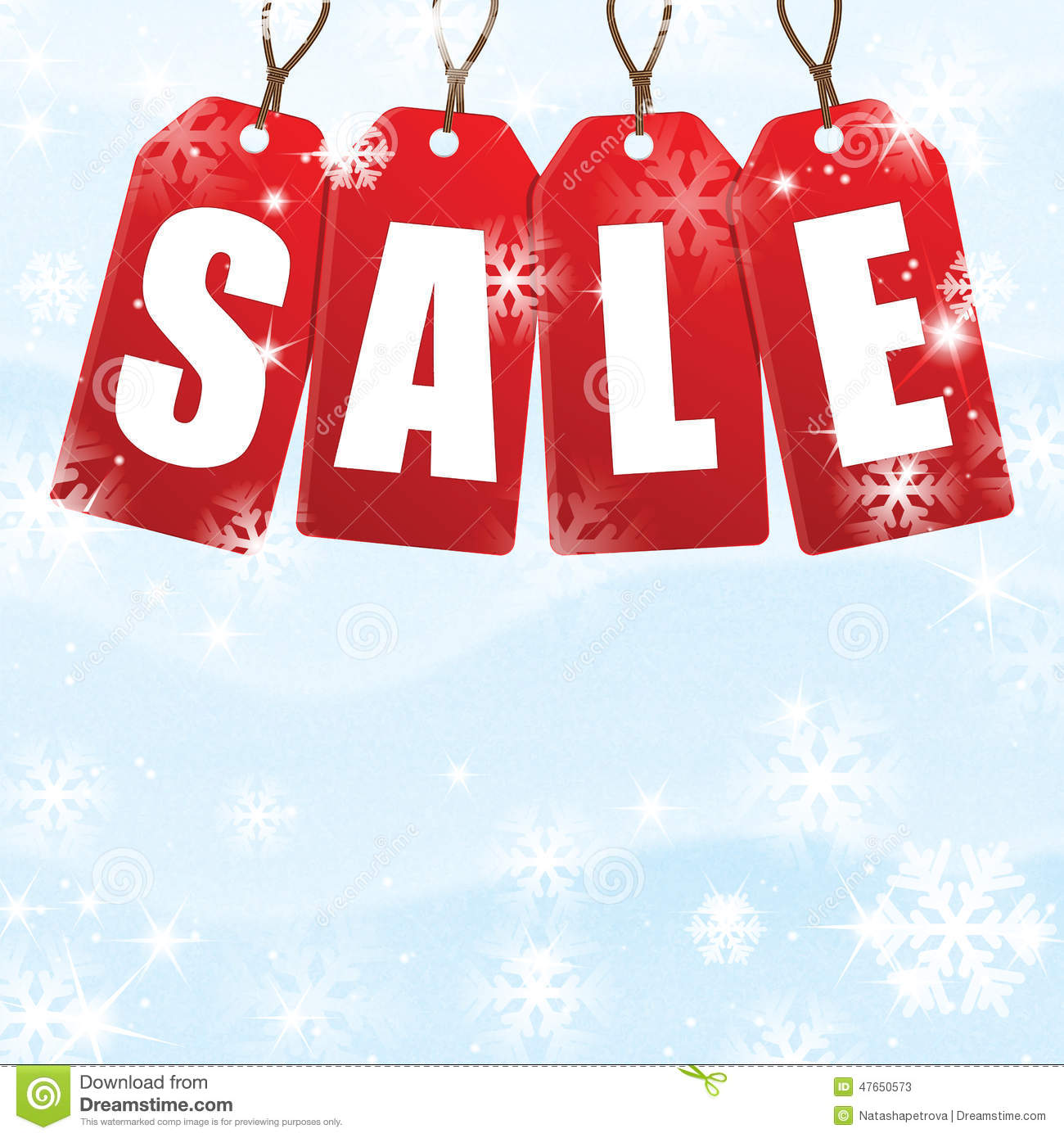 christmas and new year sale stock vector